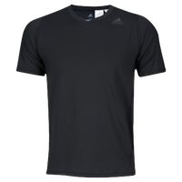 adidas ALPHASKIN S/S Fitted T-Shirt - Men's - Black / Black