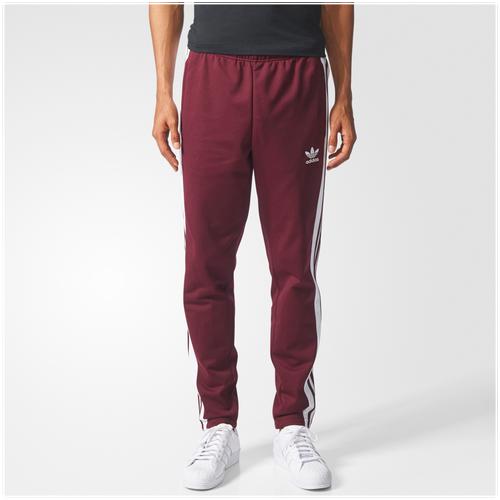 cb93766d792a adidas Originals Snap Track Pants - Men s - Casual - Clothing - Maroon White