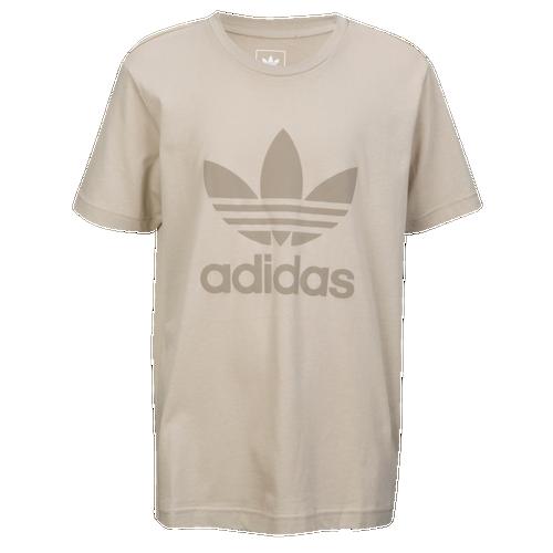 f0c97fe8f6f9 adidas Originals Suede Trefoil T-Shirt - Boys' Grade School - Casual ...