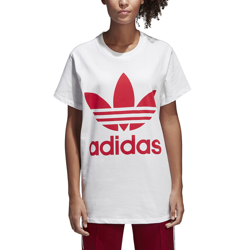 a few days away differently well known adidas Originals Adicolor Oversized Trefoil T-Shirt - Women's