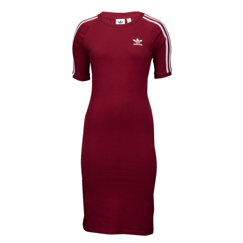 adidas Originals Adicolor 3-Stripe Dress - Women s - Casual - Clothing - Night  Cargo 287928ace