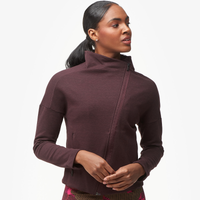adidas Heart Racer Cover Up Jacket - Women's - Maroon