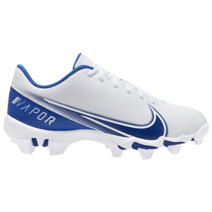 Nike Vapor Edge Shark 4 - Boys' Grade School - White/Royal/White