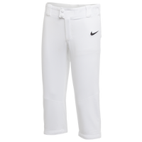Nike Team Core Softball Pants - Girls' Grade School - White