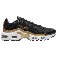 Nike Air Max Plus - Boys' Grade School - Black / Gold