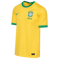Nike Soccer Breathe Stadium Jersey - Men's - Brazil - Yellow