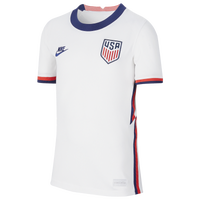 Nike Breathe Stadium Jersey - Boys' Grade School - USA - White