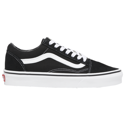 old skool vans black kids
