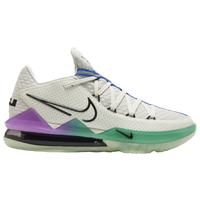 Nike LeBron 17 Low - Men's -  Lebron James - White / Multicolor