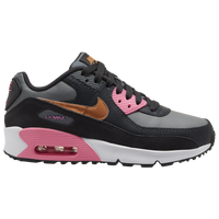 Nike Air Max 90 - Girls' Grade School - Grey