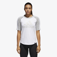 adidas Athletics Raglan T-Shirt - Women's - White