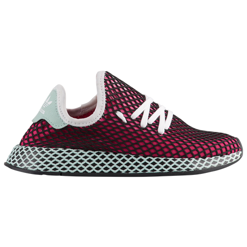 259ef50e0 adidas Originals Deerupt Runner - Boys  Grade School - Casual - Shoes -  Real Magenta Black White