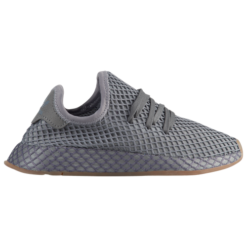 bfb484bce adidas Originals Deerupt Runner - Boys  Grade School - Casual - Shoes -  Grey Five Grey Five Black Black