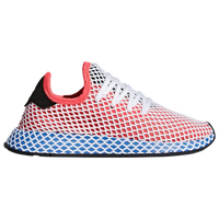 the latest 32bad 181bf adidas Originals Deerupt Runner - Boys Grade School - Red  Blue