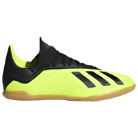 adidas X Tango 18.3 IN - Boys' Grade School - Light Green / Black