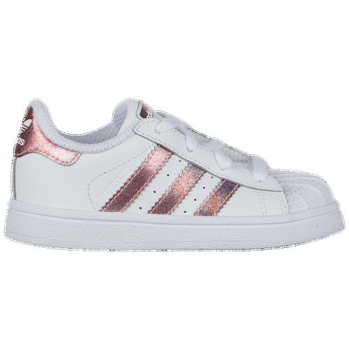 adidas Originals Superstar - Girls  Toddler - Basketball - Shoes ... d70db2fbd8d