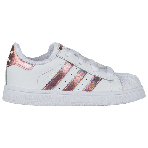 fa8cf86d2db adidas Originals Superstar - Girls  Toddler - Basketball - Shoes ...