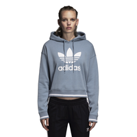 Adidas Originals Active Icon Crop Hoodie by Lady Foot Locker