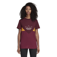 adidas Originals Colorado Trefoil T-Shirt - Women's - Maroon
