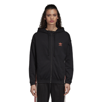adidas Originals Adibreak Full-Zip Hoodie - Women's - Black / Pink