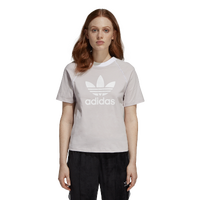 adidas Originals Winter Ease Trefoil T-Shirt - Women's - Grey