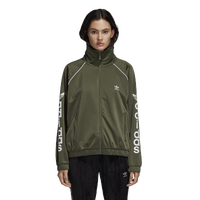 adidas Originals Winter Ease Track Top - Women's - Olive Green
