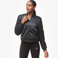 adidas Athletics Sherpa Jacket - Women's - All Black / Black