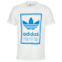 9f764fb91 adidas Originals Vintage S/S T-Shirt - Men's - White / Light Blue