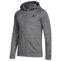 adidas Team Electric Full-Zip Hoodie - Men's - Grey