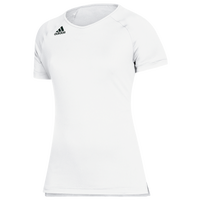 adidas Hi-Lo Cap Sleeve Jersey - Youth - White
