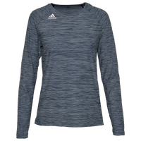 adidas Hi-Lo Long Sleeve Jersey - Women's - Navy