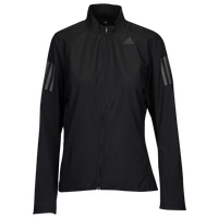 adidas Own The Run Wind Jacket - Women's - All Black / Black