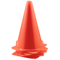"Korney Boards Aides Team 9"" Orange Cones - Orange / Orange"