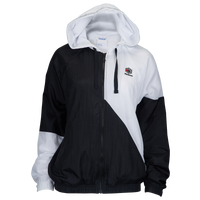 Reebok Classic Starcrest Full-Zip Windbreaker - Women's - Black / White
