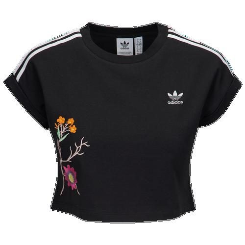 Adidas Originals venenoso jardin cropped t shirt mujer casual