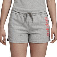 adidas Athletics Essential Linear Shorts - Women's - Grey