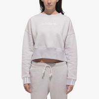 adidas Originals Coeeze Cropped Crew - Women's - Purple