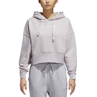 adidas Originals Coeeze Cropped Hoodie - Women's - Purple