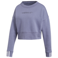 adidas Originals Coeeze Cropped Crew - Women's - Navy