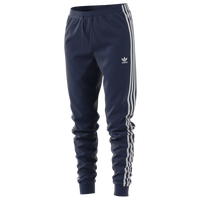 adidas Originals Adicolor Fleece Pants - Women's - Navy