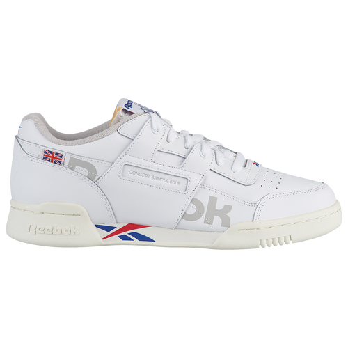 2c290e4f534 Reebok Workout Plus Altered - Men s - Casual - Shoes - White Tm Dark  Royal Exc Red Snow Grey Chalk