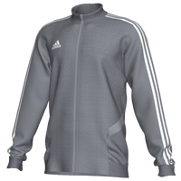 adidas Team Trio 19 Training Jacket - Boys' Grade School - Grey