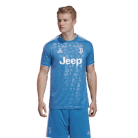adidas Soccer Replica Jersey - Men's - Juventus - Light Blue