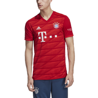 adidas Soccer Replica Jersey - Men's - FC Bayern - Red