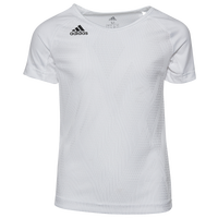 adidas Team Quickset S/S Jersey - Youth - White