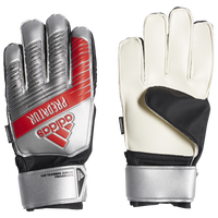 adidas Predator Fingersave Junior GK Gloves - Grade School - Silver
