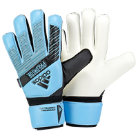 adidas Predator Fingersave Goalie Gloves - Adult - Light Blue
