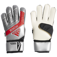 adidas Predator Fingersave Goalie Gloves - Adult - Silver