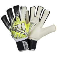 adidas Classic Fingersave Goalie Gloves - Adult - Yellow / Yellow