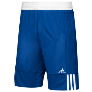 adidas Team 3G Speed Reversible Shorts - Boys' Grade School - College Royal/White